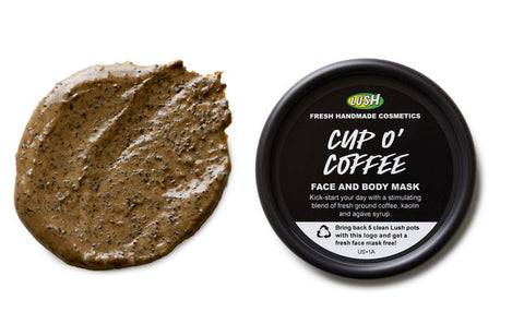 Lush Cup o coffee face mask