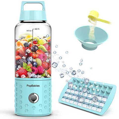 Pop Babies Mini Blender from Amazon Portable Rechargeable for College Students