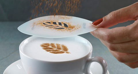 Coffee Stencil for Latte Art