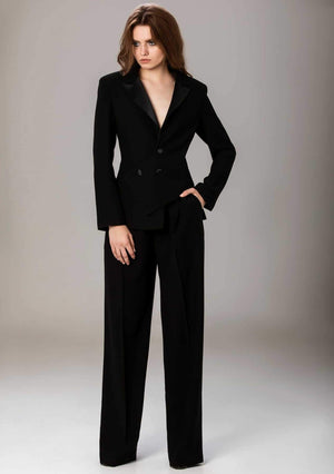 Mick White crepe suit