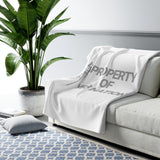 PROPERTY OF YFB NATION Sherpa Fleece Blanket