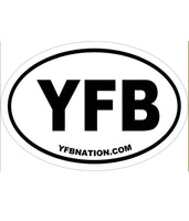 YFB Decal white