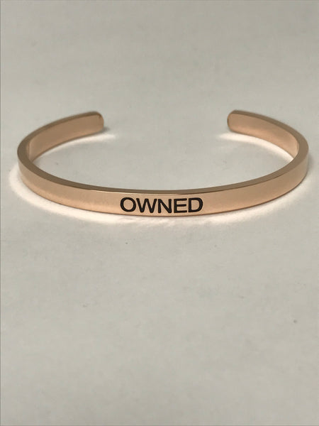 OWNED bangle