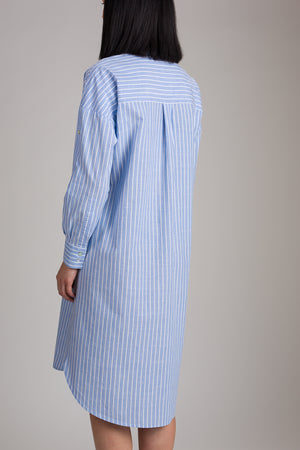 GEFJUN LONG SEMI LOOSE SHIRT