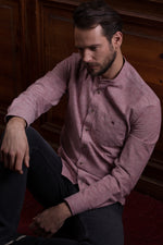 MÍMIR MANDARIN COLLAR SHIRT W/CHEST POCKET