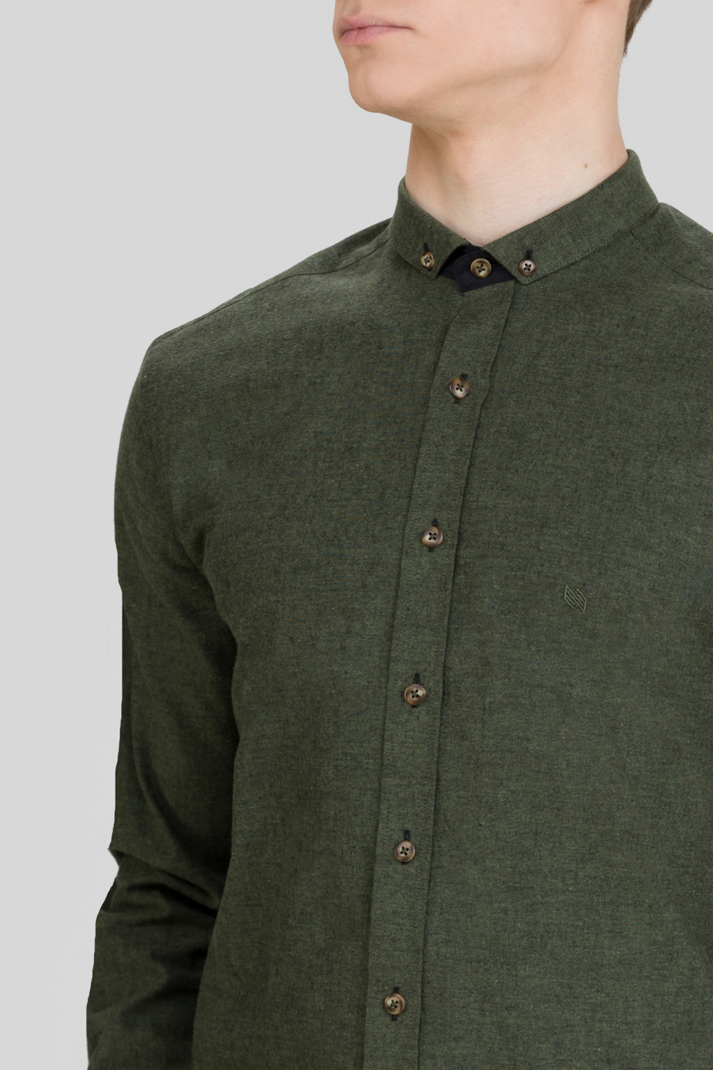 LOKI SMALL BD CUT AWAY COLLAR SHIRT