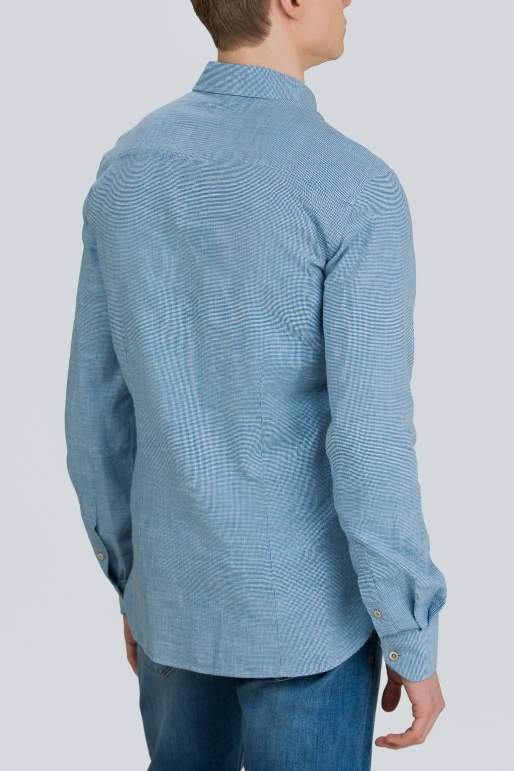 HJÚKI SOFT LOW COLLAR SHIRT