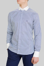 BÚRI CLUB COLLAR SHIRT W/FLY FRONT
