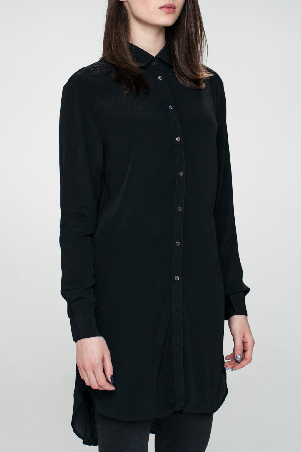 SIGYN LONG SEMI LOOSE SHIRT