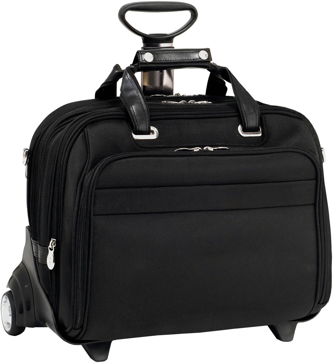 McKlein R Series Midway FlyThrough 17in Wheeled Laptop Case