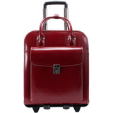 McKlein W Series Willowbrook Leather Wheeled Ladies Case