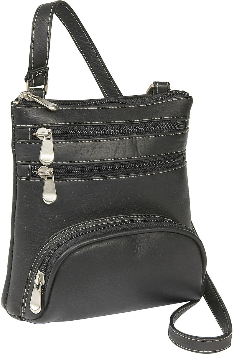 LeDonne Leather Vaqueta Front Pocket Mini