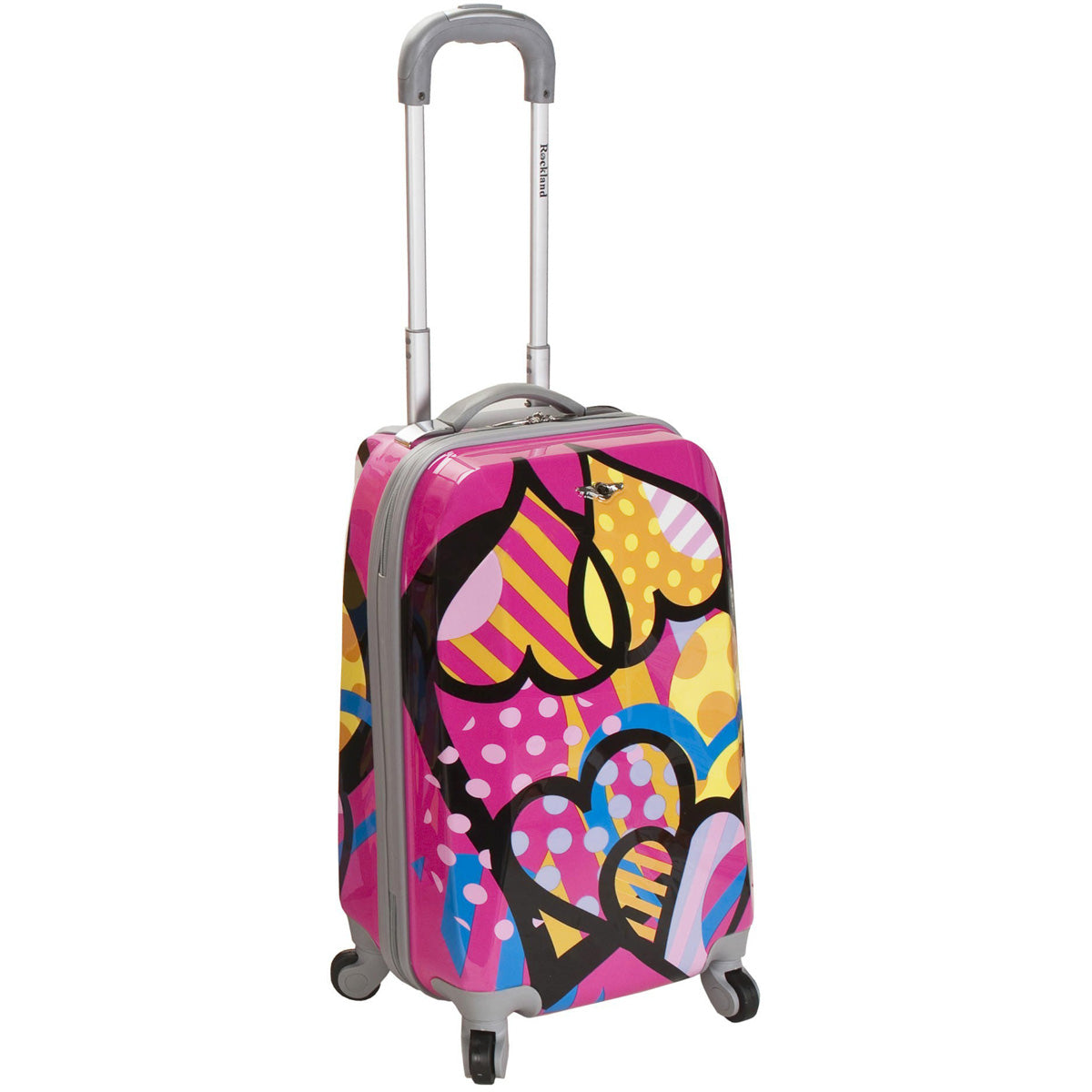 Rockland Luggage Vision 20in Polycarbonate Carry On Spinner