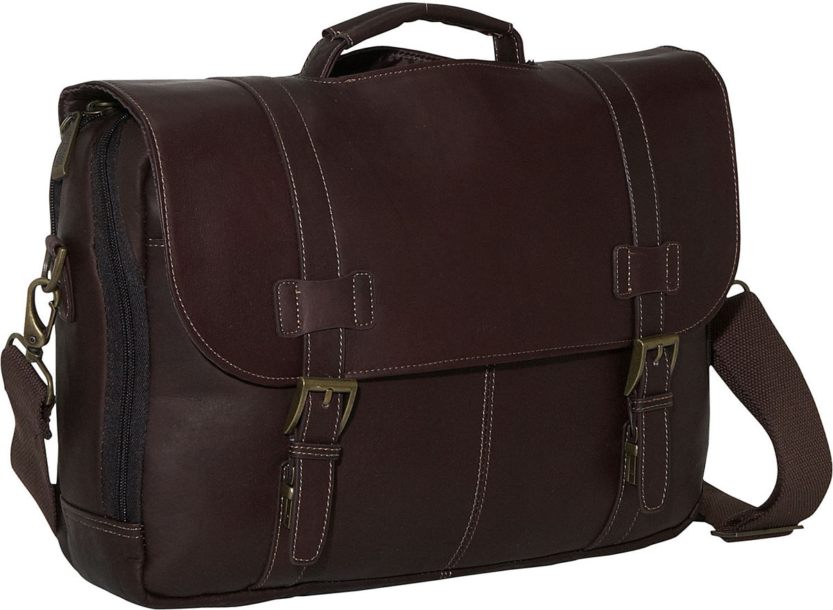 Kenneth Cole Reaction Show Business - Colombian Leather Flapover Computer Case