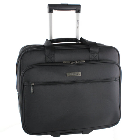 "Kenneth Cole Reaction ""The Wheel Thing"" Double Gusset Wheeled iPad / Tablet / Computer Case"