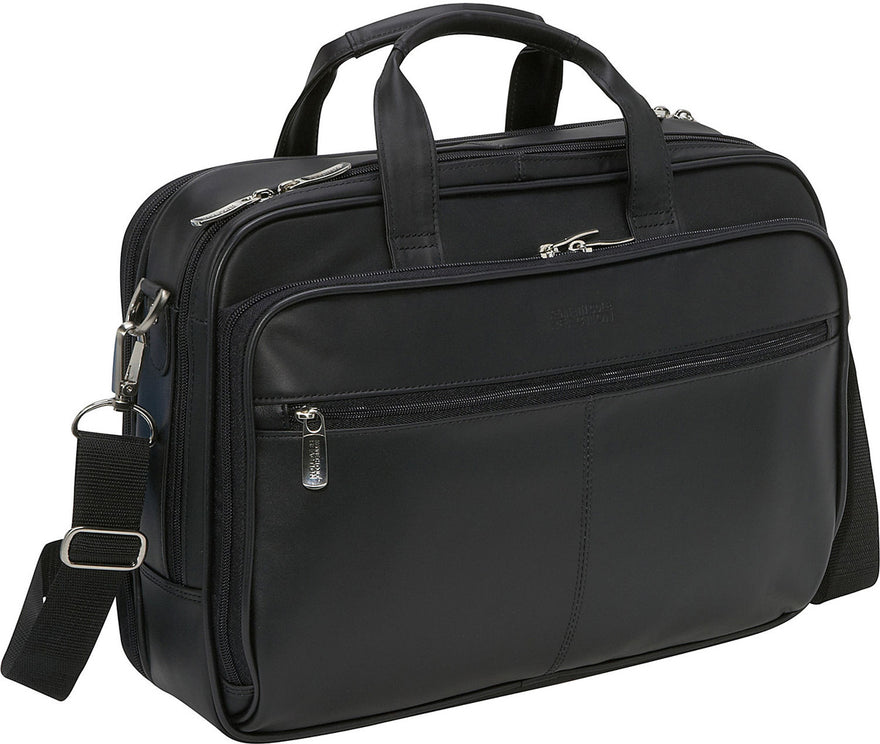 Kenneth Cole Reaction I Rest My Case - Leather Zip-Top Portfolio