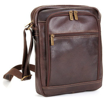 LeDonne Leather Distressed Ipad/E-Reader Day Bag