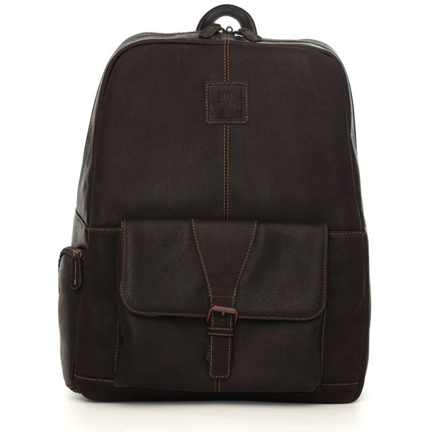 Jill-e Designs JACK Hemingway 15in Leather Laptop Backpack