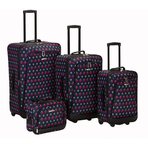 Rockland Luggage Metropolitan 4 Piece Luggage Set