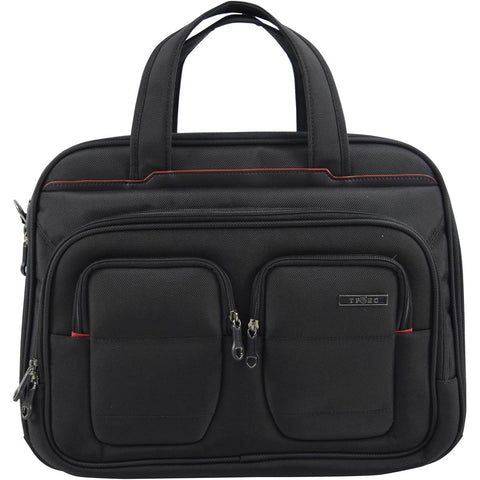 Travelers Club 17in Flex-File Laptop Briefcase