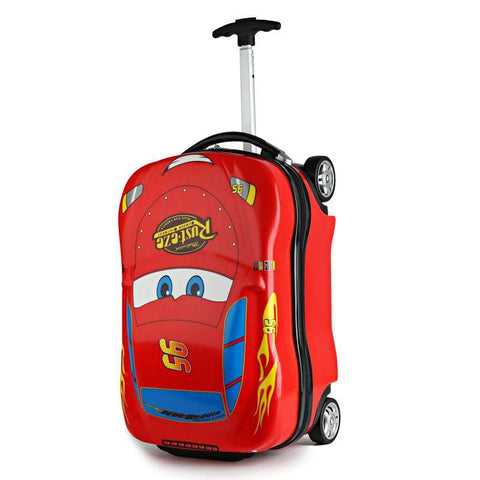 18inch Kids Suitcase 3DCar Children's Luggage Travel Trolley Suitcase set wheels Child school