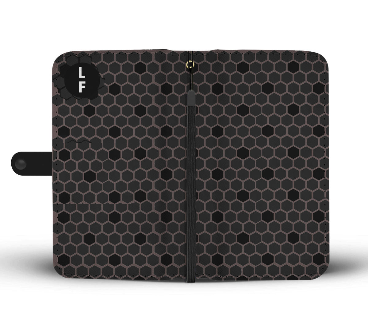 Rfid Phone Case Honeycomb Pattern - From Luggagefactory