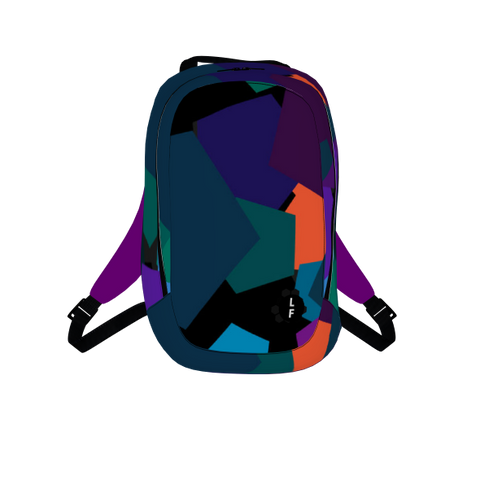Pentagon Abstract Travel Backpack From Luggagefactory.Com