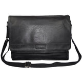 "Kenneth Cole Reaction ""The Grand Tour"" Slim Flapover Messenger"