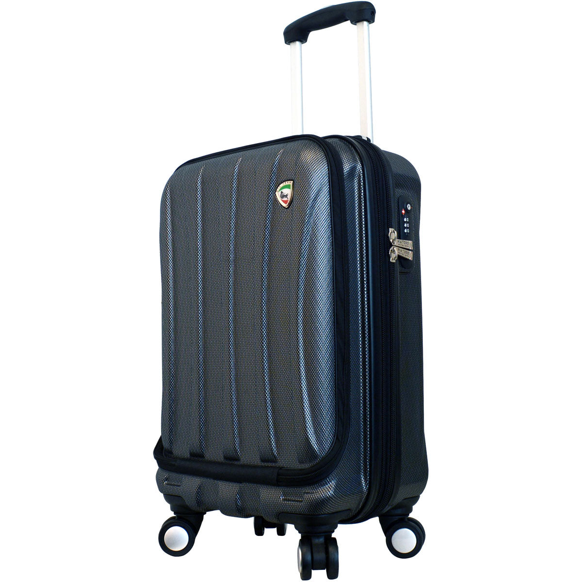 Mia Toro Tasca Fusion Hardside Spinner Carry On