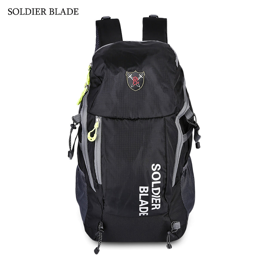 SOLDIER BLADE Multifunction Outdoor Traveling Riding Biking Light Weight Water Resistant Backpack