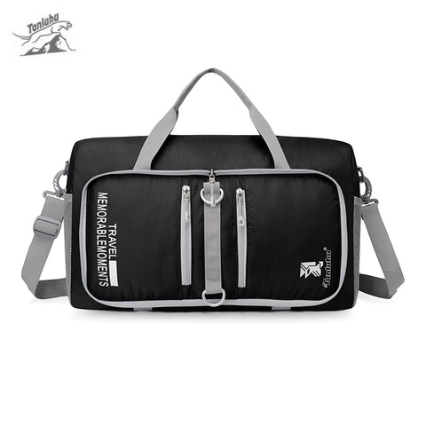 Tanluhu 682 25L Foldable Duffle Bag Traveling Luggage Pack