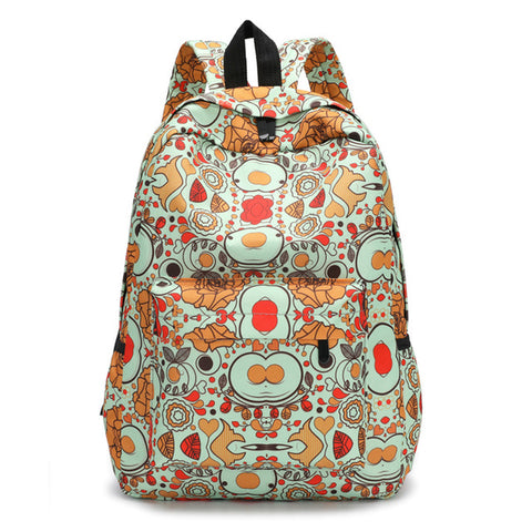 Fresh Style Women Backpacks lovely Floral