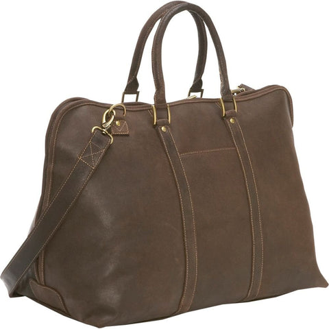 LeDonne Leather Distressed Getaway Duffel