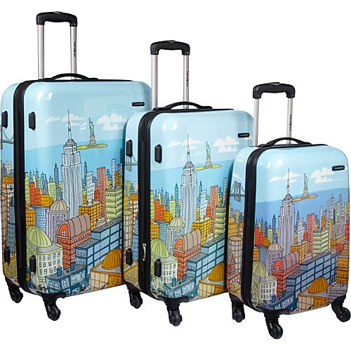 Samsonite Cityscape Spinner 3 Spinner Set