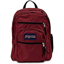 JanSport Unisex Big Student Overexposed (Viking Red)