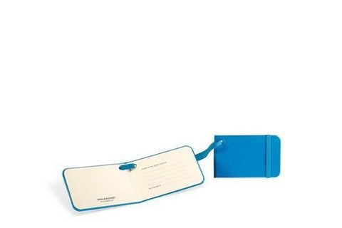 "Moleskine 3.75x2.25"" Luggage Tag, Sky Blue"