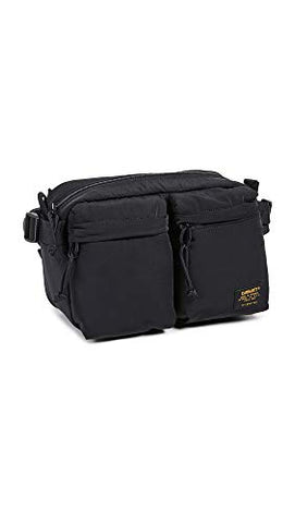 Carhartt WIP Men's Military Hip Bag, Black, One Size