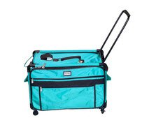 Tutto 9228TMA 2XL TURQUOIS Machine on Wheels Case, 27 by 16.25 by 14, Turquoise