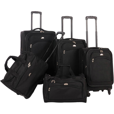 American Flyer South West 5pc Luggage Set