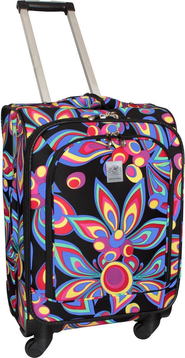 Jenni Chan Wild Flowers 21in Upright Spinner