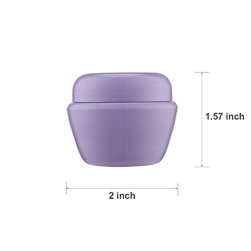 486b6e603752 LONGWAY 1 Oz (30ML) Mini Plastic Jars with Lids and Inner Liners | Empty  Lotion Containers/Travel Cream Containers - for Sugar Scrub, Cosmetic Jars  & ...
