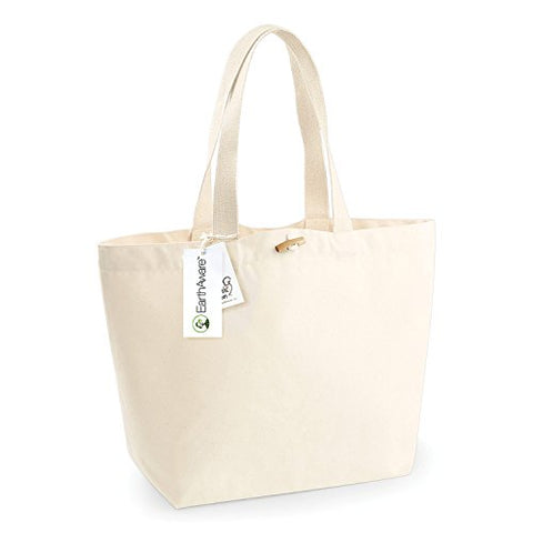 Westford Mill Earthaware Organic Marina Tote - Natural