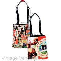 Coca-Cola Tote Bag Collage Style