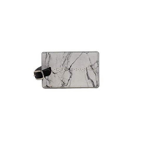 Gabbiano Embossed Marble Luggage Tag