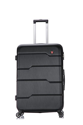 Dukap Luggage Rodez Lightweight Hardside Spinner 28'' Inches Black