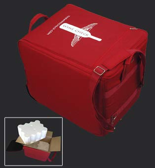 Wine Check Luggage Complete Set Red #3768