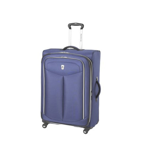 Atlantic Luggage Ultra Lite 2 29 Inches Expandable Spinner, Blue, One Size