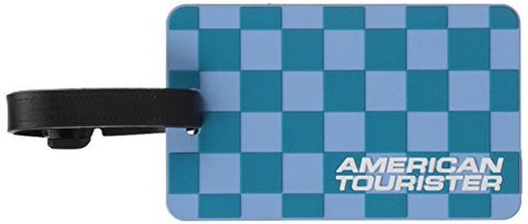 American Tourister AT Luggage Tag Travel Accessory, Capri Breeze Checks