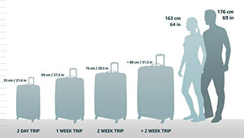 "Bric's USA Luggage Model: RICCIONE |Size: 21"" spinner 