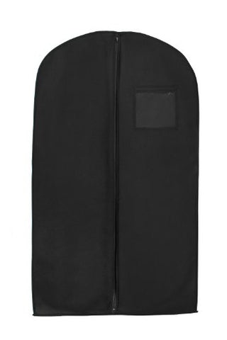 Bags For Less Black Suit & Dress Travel & Storage Garment Bag Durable, Rip Resistant, Repellent,